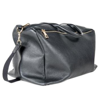 Dollar leather maxi bag