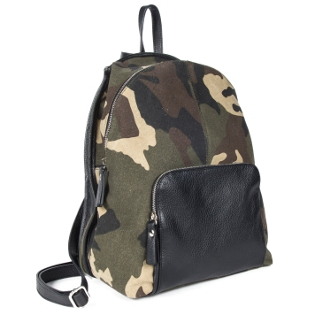 ART.212\U Leather + camouflage
