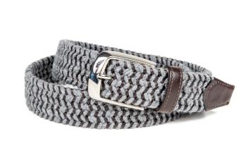 ART.1204 Treccia lana + Leather