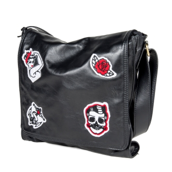 ART.220U Soft leather with patch